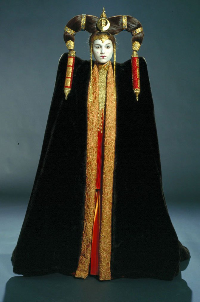 Admirable Finding Character In Clothing The Costumes Of Padme Amidala The Hairstyle Inspiration Daily Dogsangcom